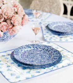 JARDIN PLACE MAT, SET OF 4 - SWEET PEA. Tory Burch- I want it all!