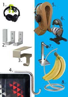 Buy or DIY: 8 Headphone Hangers