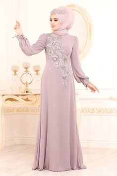 Abaya Style, Abaya Designs, Hijab Evening Dress, Evening Dresses, Abaya Fashion, Fashion Dresses, Chiffon Dress, Lace Dress, Blue Dresses For Women