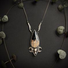 Bellatrix, Bones, Skull, Pendant Necklace, Sterling Silver, Chain, Jewellery, Jewels, Jewelry Shop