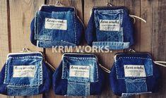 Upcycle, Denim Bag, Handmade, Jackets, Fashion, Dressmaking, Bags, Jean Bag, Down Jackets