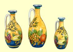 Il Ninfeo in Amalfi - oil bottles in Olives and Fruits design