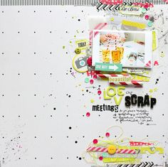 #papercraft #scrapbook #layout  SODAlicious: Galeria prac