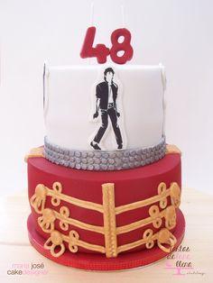 Tarta Michael Jackson - Michael Jackson Cake www.tartasdelunallena.blogspot.com   maria jose cake designer