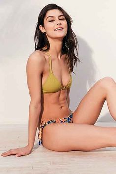 Out From Under Solid Triangle Racerback Bikini Top - Urban Outfitters