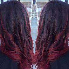 Картинки по запросу винный цвет волос