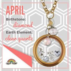 April with Origami Owl  www.jennamaley.origamiowl.com