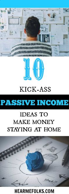 Looking for some cool passive income ideas to make money staying at home? Then get to know these top 10 passive income streams that actually work right now. www.hearmefolks.c...