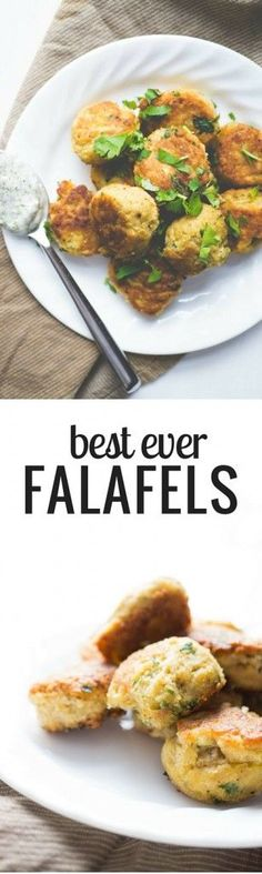 Falafels Best Ever. Crunchy on the outside. Soft and pillowy on the inside. This easy recipe is amazing!