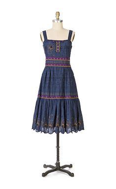 moon river dress - anthropologie.com