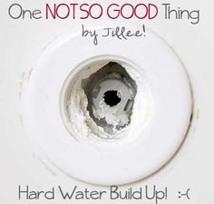 Remove Hard Water Deposits From Your Bathtub . . . No Scrubbing Required. - One Good Thing by Jillee