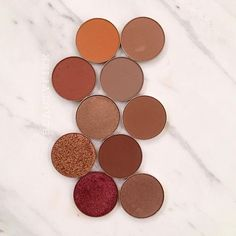 Makeup Geek Eyeshadows in Early Bird, Tan Lines, Pocket Change, Bake Sale, Bandwagon, Sidekick, Cabin Fever and Lucky Penny + Makeup Geek Foiled Eyeshadows in Legend and Curtain Call. Look by: _beautyfixx