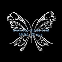 Hotfix Butterfly Transfer Design For Girl Clothes