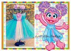 Fun halloween costumes. Halloween tutu. Sesame street. Big bird costume. Abby cadabby. Elmo. Birthday party. Sesame street birthday. Sesame street costumes. Can do any character needed for school plays or Birthday Parties or Halloween! Please message! :) You can follow the link for the item you need then message me with measurements!