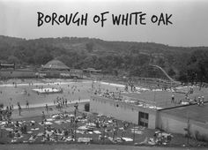 On June 24, 1948, the Borough of White Oak was incorporated. The borough was home to Rainbow Gardens, an amusement park, pool & drive-in theater until 1968, when it was sold and demolished to make way for a highway, which was never built. Today, the borough covers 6.55 square miles and has a population of 7,862.