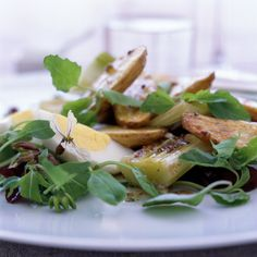 Roasted Leek and Potato Salad