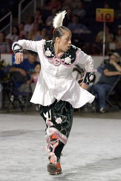 2007 Powwow by Smithsonian Institution, via Flickr    smoke dance! Valerie Parker