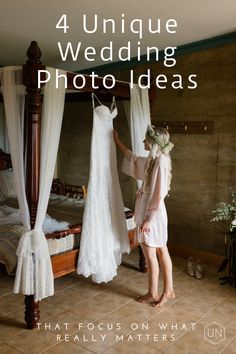 How to plan a dress reveal, alone time, reading/writing love letters and a first look for your wedding day.