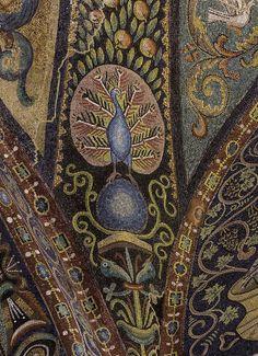 Peacock in Ravenna
