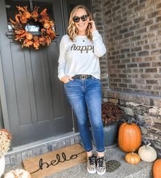 Leopard Lovers Cute Fall Style Cute fall look with pops of leopard! #ShopStyle #MyShopStyle #Lifestyle