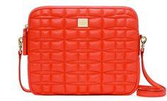 Bright Kate Spade laptop bag.
