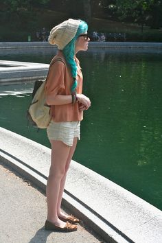 cute hipster clothes | hair girl cute fashion photo style hipster street style blue Clothes ...