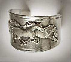 I'm selling Galloping Mustangs cuff bracelet - $28.99 #onselz