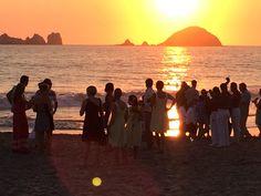 The perfect way to end an amazing wedding day at Sunscape Dorado Pacifico Ixtapa!