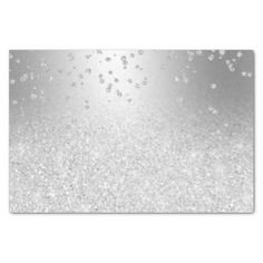 Shop Silver glitter ombre metallic sparkles confetti tissue paper created by girly_trend. Silver Glitter, Metallic, Blank Business Cards, Custom Tissue Paper, Glitter Gifts, Small Gifts, Confetti, Sparkles, Girly