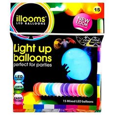 LED Ballonnen 15 stuks - Multi