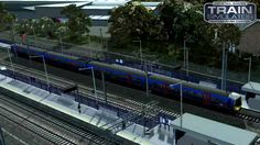 """Train Simulator 2017 Class 365 EMU Firts Capital Connect Kings Cross to Welwyn Garden City Racing Wheel : Thrustmaster T500RS  Shift TH8R  The British Rail Class 365 """"Networker Express"""" are dual-voltage (25 kV AC and 750 V DC) electric multiple units built by ABB at York from 1994 to 1995. These were the last units to be built at the York factory before its closure. All Class 365 units in service have received front-end cab modifications to equip them with cab air conditioning installed by…"""