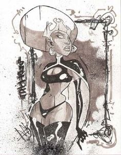 Storm by Skottie Young Comic Art
