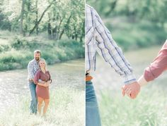 engagement pictures in the country   rustic engagement picture ideas   engagement pictures by river   engagement pictures in the woods   rustic outfit ideas for engagement photos   iowa engagement photos   monticello iowa   engagement pictures on farm   rustic engagement session   iowa wedding photographer   gigi boucher photography