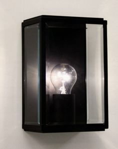 Tinsmiths Box Outdoor Wall Light