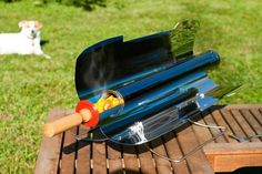 Portable High Efficiency Solar Cooker http://usefulgadgetsforyou.com/portable-high-efficiency-solar-cooker/
