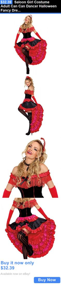 women costumes saloon girl costume adult can can dancer halloween fancy dress buy it now - Can Can Dancer Halloween Costume