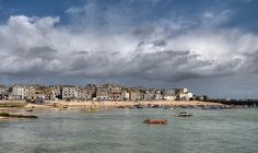 Rain clouds over St Ives - Explore 14 | Flickr: Intercambio de fotos