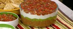 Carla Hall's Mexican 5-Layer Dip