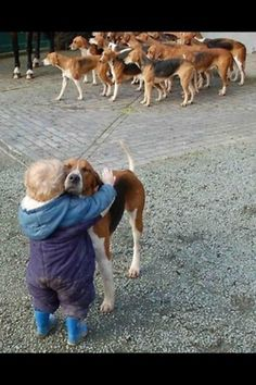 There is always one that will stand out in the crowd and give you a little love....