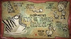Don't Starve Shipwrecked - Eye of the Tiger Shark update promo