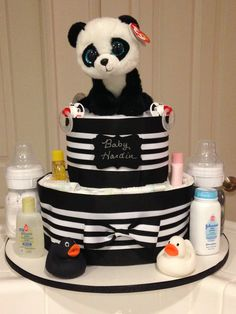 Black and White Cake for Amy and Mark Hardin