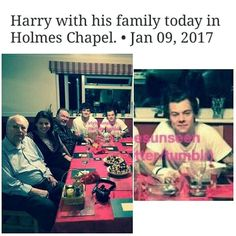 I love that Harry's  been spending so much time with his family. :)