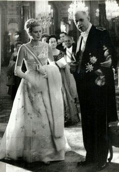 With Charles de Gaulle