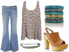 Movie Inspiration: Fashion Inspired by Dazed and Confused – College Fashion...love the shoes!