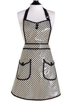 Coated apron - Perfect for art teacher life!