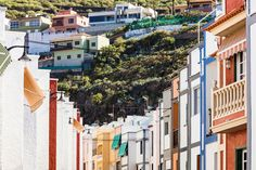 Casco en San Juan de la Rambla, arquitectura colonial, Tenerife, Islas Canarias // colonial architecture in the Canary Islands // koloniale Architektur auf Teneriffa, Kanarische Inseln Colonial Architecture, Canary Islands, Historical Sites, Street View, Design, San Juan, Art, Teneriffe, Architecture