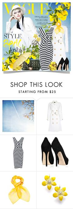 """""""If you think nobody cares if you're alive, try missing a couple of car payments"""" by amaryllis ❤ liked on Polyvore featuring Calle, Christian Dior, Derek Lam, Phase Eight, Gucci, Alexander McQueen, Betsey Johnson, Barneys New York, quilted handbags and striped dresses"""