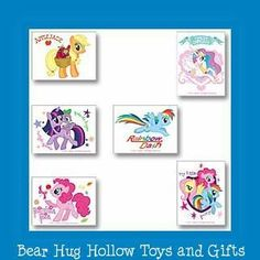 12 My Little Pony Temporary Tattoos Party Favors