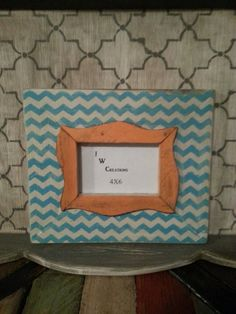 4x6 distressed wood frame by JWCreations22 on Etsy, $25.00