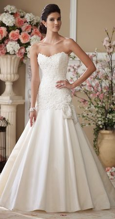 David Tutera for Mon Cheri Spring 2014 Bridal Collection - Belle The Magazine